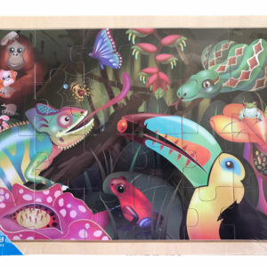 Puzzel Rainforest Simply for Kids