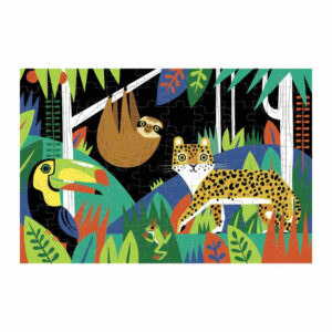 Mudpuppy glow in the dark rainforest puzzel overzicht